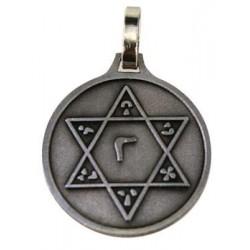 Médaille Sceau de Salomon - argentée