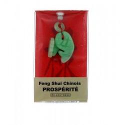 Porte-bonheur Feng-shui Jade Prospérité