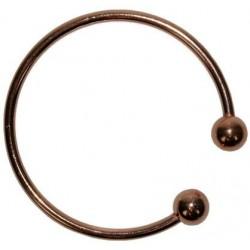 Bracelet cuivre avec Aimants 3 mm Forme jonc rond