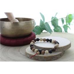 Bracelet Mala en Bois Mix