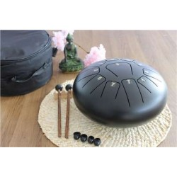 Tongue Drum Noir Diamètre 25 cm