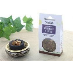 Encens résine en grains myrrhe rouge de somalie 50 g