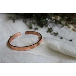 Bracelet cuivre Forme jonc plat